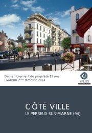 Résidence Côté Ville - Haussmann Patrimoine