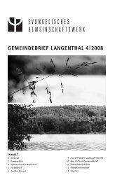 Interview mit Daniel Steiner-Brütsch, Nachfolger von Erwin Sommer ...