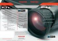 Télécharger la brochure commerciale Toshiba F1PLUS - Lampe ...