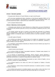 Vehículos tracción mecánica - Ayuntamiento Villalbilla