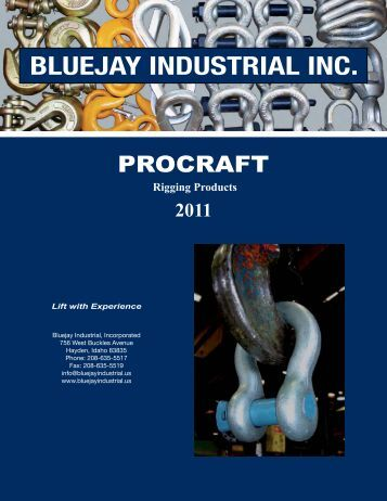 Bluejay Procraft Import Rigging Catalogue - WordPress – www ...