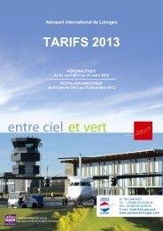 Du 01 avril 2013 au 31 mars 2014 - Aéroport International de Limoges