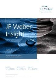 JP Weber Insight 1/2012