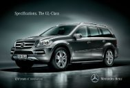 Specifications. The GL - Class - Mercedes-Benz South Africa