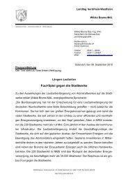 Pressemitteilung Wibke Brems 08 09 2010 Foul-Spiel gegen die ...