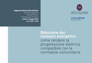 Chloride invito ok - Ordine degli Ingegneri della provincia di Roma