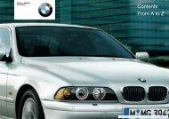 BMW 2003 5 Series Owners Manual - edsoto.com