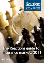 The Reactions guide to insurance markets 2011