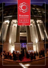 Global Awards 2011 - Reactions