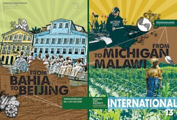2012 MSU International - International Studies And Program