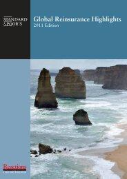 Global Reinsurance Highlights 2011 - Reactions