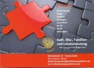 Info-Flyer - Beratungsstelle für Ehe-, Familien