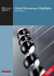 Global Reinsurance Highlights 2009 - Reactions