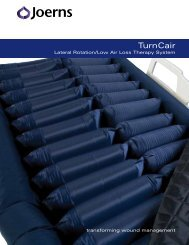 TurnCair Specifications - Joerns
