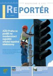 Reportér 2007/2 - AŽD Praha, sro