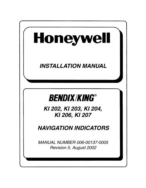 Installation Manual Ki 202 203