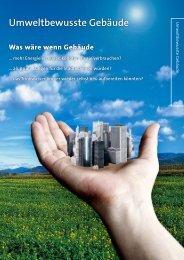 Umweltbewusste Gebäude - Grundfos E-Newsletter