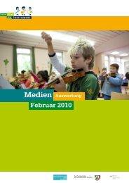 Pressespiegel DeckblattFebruar 2010 - Jedem Kind ein Instrument