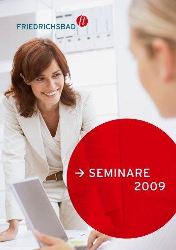 Seminare 2009 - ISM Academy