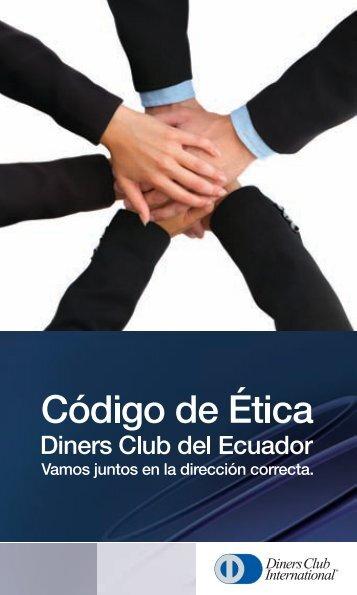Código de Ética.pdf - Diners Club del Ecuador