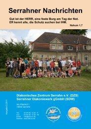 Ausgabe 2/2011 - in der Rehaklinik Serrahn