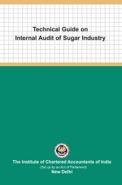Technical Guide on Internal Audit of Sugar Industry - CAalley.com