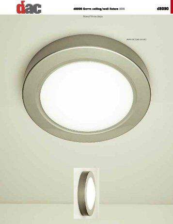 d8090 GIOTTO ceiling/wall fixture ADA - d'ac Lighting
