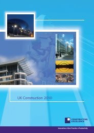 UK Construction 2010.indd - Constructing Excellence