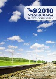 Výročná správa 2010 - ŽSR