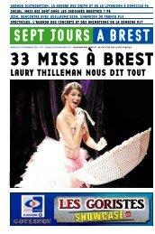 LAURY THILLEMAN NOUS DIT TOUT - Sept jours à Brest