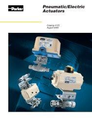 Pneumatic / Electric Actuators - regula servis