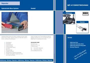 Reparatur - Hydrotechnik