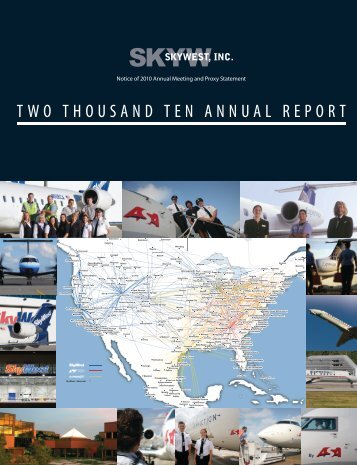 Download PDF - SkyWest - SkyWest Airlines
