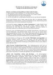 Überblick über die Aktivitäten von Navajeevan Auszüge aus dem ...