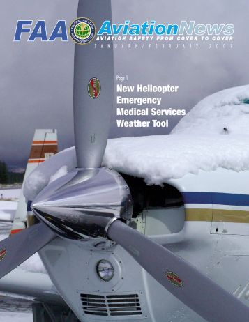 New Helicopter Emergency Medical Services Weather Tool - FAA