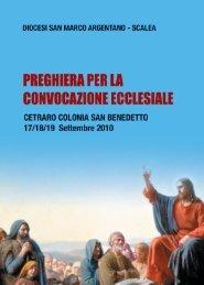 preghiera per la convocazione ecclesiale - Chiesa Cattolica Italiana