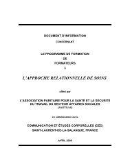 Document d'information concernant le programme de ... - Asstsas