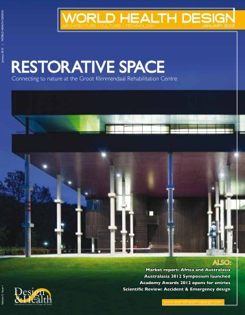 RESTORATIVE SpAcE - the International Academy of Design and ...