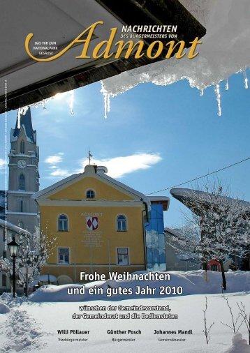 Bürgermeister Zeitung - Marktgemeinde Admont