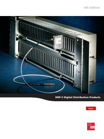 DDP-3 Digital Distribution Products
