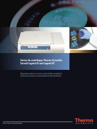 Series de centrífugas Thermo Scientific Sorvall Legend X1 and ...