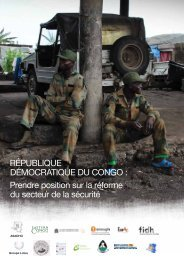 République démocRatique du congo : prendre ... - Pole Institute