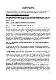 Protokoll vom 15.Mai 2013 - Nußloch