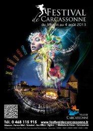 Programme complet du Festival de Carcassonne 2013