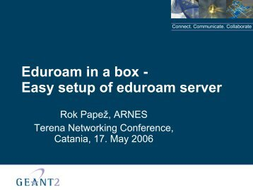 Download Slides - Terena