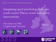 Integrating Sport Psychology into elite Youth Soccer