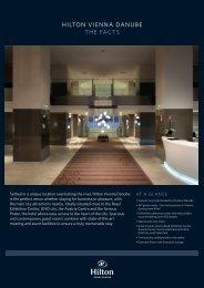 HILTON VIENNA DANUBE THE FACTS - hotels Vienna