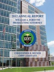 Annual Report - Kent County, Michigan