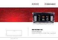ZE-NC 3 811D - Zenec