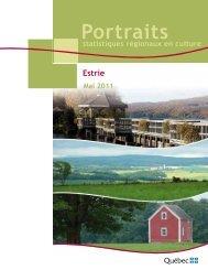 Portraits statistiques régionaux en culture. Estrie. - Ministère de la ...